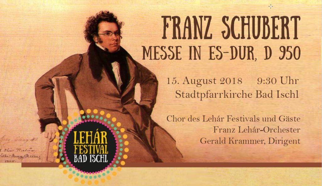 Schubertmesse 2018 in Bad Ischl